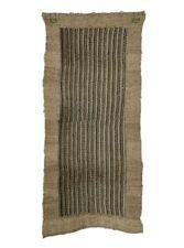 Antique Japanese Ramie Cloth/ Hemp Waste Fiber Cloth Folk Textiles 27.6