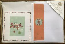 Burgoyne Holiday Cards 40 Pcs. Self Sealing Envelopes. Hand Crafted. Made In Usa