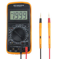 Digital AC/DC LCD Display Professional Electric Handheld Tester Multimeter