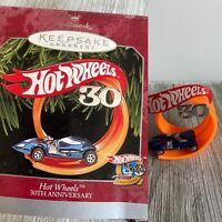 Hallmark Ornaments Hot Wheels 30th Anniversary