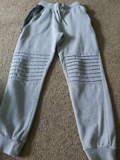Boys Grey Jog Bottoms Trousers Size 11-12 Years