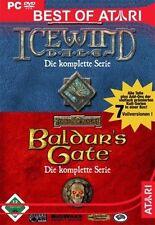 PC SPIEL Baldurs Gate & Icewind Dale komplette SAGA DEUTSCH 7 Vollversionen neuw