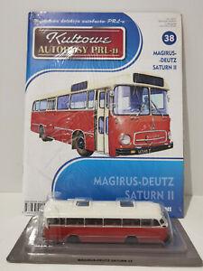 IXO IST MAGIRUS SATURN II Kultowe Autobusy PRL-u 1:72 no.38 polish bus