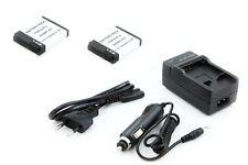 2x Batteria + Caricabatterie GoPro HERO 2 HERO 2 HD HERO 2 Surf Edition