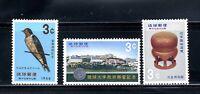 1966 RYUKYU-JAPAN  3-Stamp Set SC#143, 145 & 146   MNH OG
