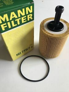 MANN Oil Filter HU719/7x For Audi Seat Skoda Mitsubishi VW