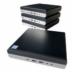 HP EliteDesk Mini 800 G3 Intel Core i5-6600T (2.70 GHz) 8GB RAM, 256GB SSD