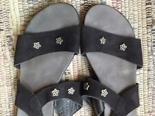 Arche french Shoes Comfort Sandals 40 Black Seude
