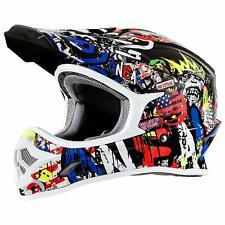 O`Neal 3Series Rancid MX Enduro Helmet Bunt Größe L UVP: 139,95€