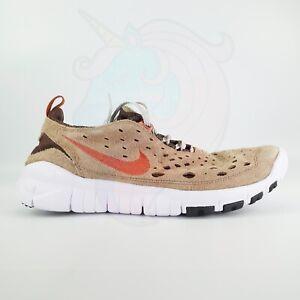 Nike Free Run Trail DK Driftwood Russet CW5814-200 Men's Shoes Size 10