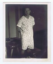 Mickey Mantle 4x5  Photo Smoking Pajamas Type 1 PSA DNA coa 1950's 1/1 RARE