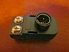 TV Quick Push on Transformer Connect 75-300 OHM Male Adapter
