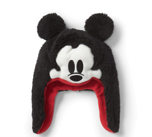 """GAP X DISNEY MICKEY MOUSE HAT BABY / TODDLER """"NWT"""" MICKEY MOUSE TRAPPER HAT"""