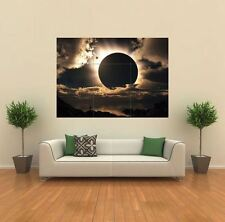 Eclipse LUNA NATURALE Planet NUOVO GIGANTE POSTER WALL ART PRINT PICTURE x1335