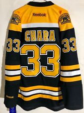 Reebok Premier NHL Jersey Boston Bruins Zdeno Chara Black sz XL