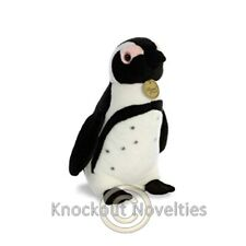 "11"" Miyoni - African Penguin Toy Cuddle Stuffed Animal Play"