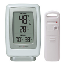 Thermometer and Humidity Sensor 00611A3 Wireless Indoor Outdoor 433 MHz