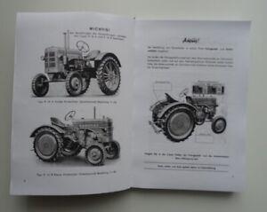 Hanomag R 16 Ersatzteil-Liste Ersatzteilliste 1951