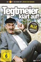 """JÜRGEN VON MANGER """"TEGTMEIER KLÄRT AUF"""" 4 DVD BOX NEU"""