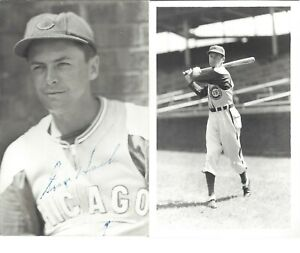 STAN HACK, 5X ALL-STAR 1932-47 CHICAGO CUBS, SIGNED PHOTO POSTCARD