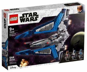 Lego Star Wars Mandalorian Starfighter 75316 Building Set Kit New 2021
