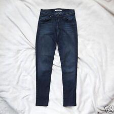 Rich & Skinny Slim Blue Jeans $154  24x28