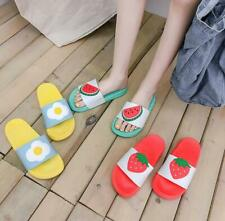Cute Fruits Women Summer Outdoor Couples Slippers Home Bathroom Slippers Shoes