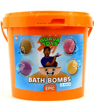 Brandable Guava Toys Bath Bombs Activity Kit 12-Pack Burst Into Bathtime Epic
