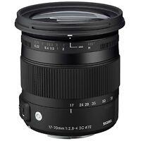 Sigma 17-70mm F2.8-4 DC Macro HSM 'C' Lens for Canon EOS Mount (UK Stock) BNIB