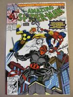 Amazing Spider-Man #354 Marvel Comics 1963 Series Punisher app 9.2 Near Mint-