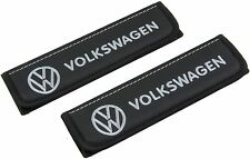 Leather Car Seat Belt Shoulder Pads Covers Cushion For Volkswagen 2 pcs