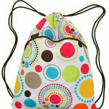 THIRTY ONE CINCH SAC IN CIRCLE SPIRALS / DOTS~RETIRED!!~(1) NEW IN ORIGINAL PKG