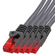 5 x 20m CAT.5 Gigabit Patchkabel Netzwerkkabel schwarz LAN Netzwerk Kabel CAT5