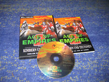 Age of Empires 2 PC Von Kimbern & Teutonen Add-On in Original DVD Hülle deutsch