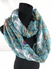 US SELLER- owl bird on branch infinity scarf Inexpensive Infinity Scarf