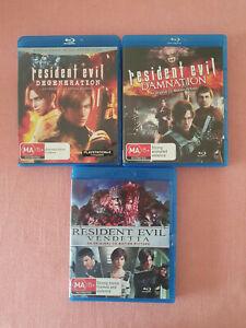 Resident Evil: Damnation / Resident Evil: Degeneration / Resident Evil Vendetta