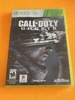 🔥 MICROSOFT XBOX 360 💯 COMPLETE WORKING GAME 🔥COD CALL OF DUTY GHOSTS 🔥