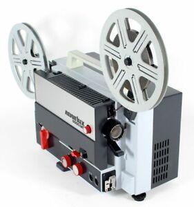 Super 8 Tonfilmprojektor Filmprojektor REVUE Lux 6006 ML - Eumig