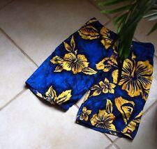 Quiksilver Quicksilver Board Shorts Men's Size 28 Blue Floral Surf