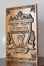 Escudo de madera Liverpool Football Club futbol football Liverpool wood shield