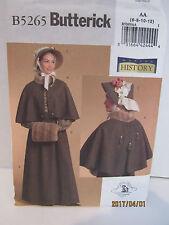 Ladies Historical Costume Sewing Pattern Sz.6-12 , (14-16-18-20 )