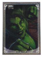 2018 Upper Deck Marvel Masterpieces She-Hulk Limited Holofoil Card 14/20 Bianchi