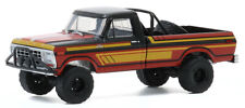 Greenlight 1:64 1978 Black & Red Ford F-250 with Off-Road Parts Model 35170-C