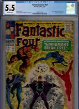 FANTASTIC FOUR #59 (Feb 1967) CGC 5.5 F- * SILVER SURFER * INHUMANS * DR. DOOM *