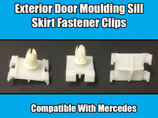 50x Clips For Mercedes Class A B C CLK G S EXTERIOR DOOR MOULDING SILL SKIRT