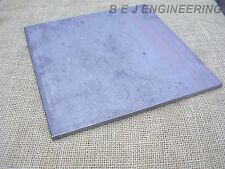 Black Steel Square Plate 300mm x 300mm x 10mm - Fixing-Mounting -Mild Steel