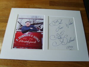Fred Dibnah Genuine Signed Authentic Autograph - UACC / AFTAL.