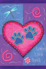 Love Live Bark Theme Decorative House Banner Double-sided Garden Flag Yard Flag