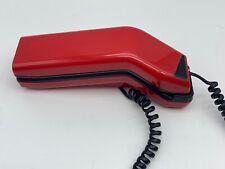 Vintage Red Telemax Italia model TM -1925 mid Century TouchTone Phone