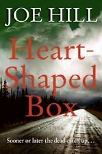 VG+1st/1st! Heart Shaped Box by Joe Hill 2007 HC